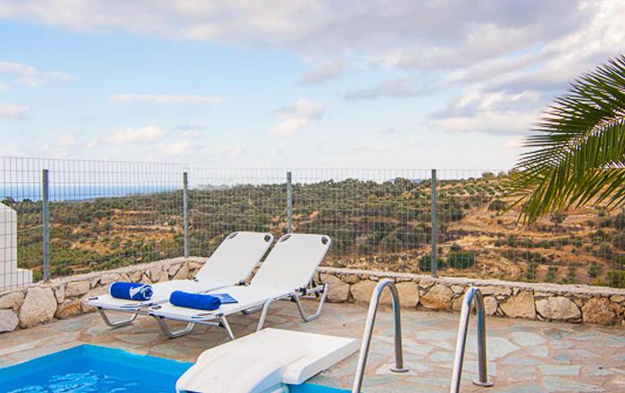 Villa Amethyst, Rethymno Area, Crete