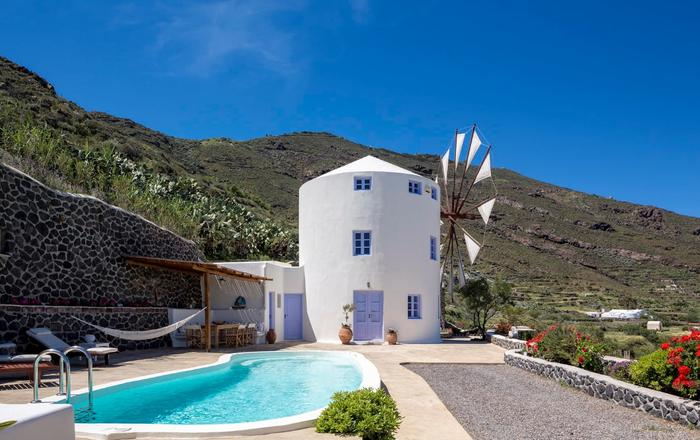 Villa Anemomylos - Zoe, Santorini North Area