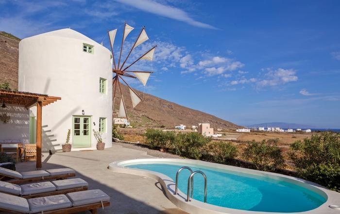 Villa Anemomylos - Lois, Santorini North Area