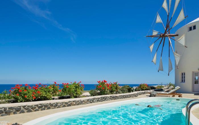 Villa Anemomylos - Dido, Santorini North Area