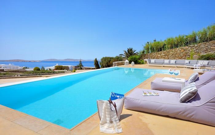 Villa Agathe, Ornos Area