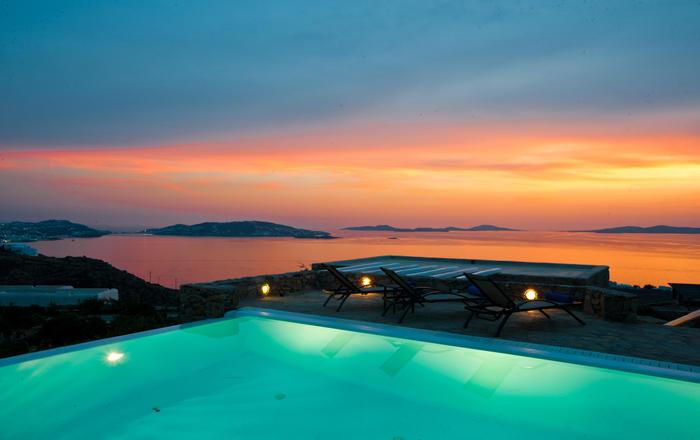 Villa Nephele, Agios Stefanos Area