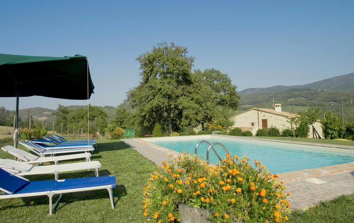 Villa La Fonte, Sarteano