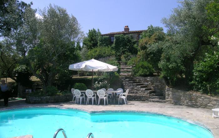 Villa Capo - 6 Guests, Montegiove
