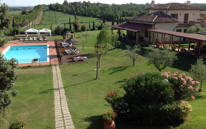 Villa Gioiella, Lake Trasimeno, Umbria