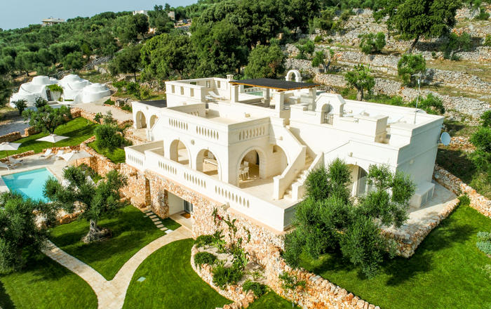 Villa Isabella, Martina Franca Area, Puglia