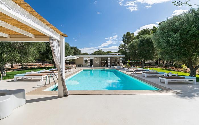 Villa Pietra Secca - 9 Guests, Taranto Area, Puglia