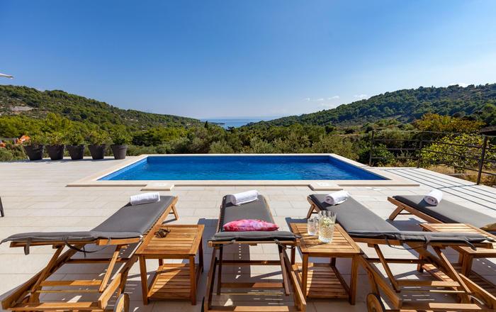 Villa Dalmatia, Brac Island, Croatia