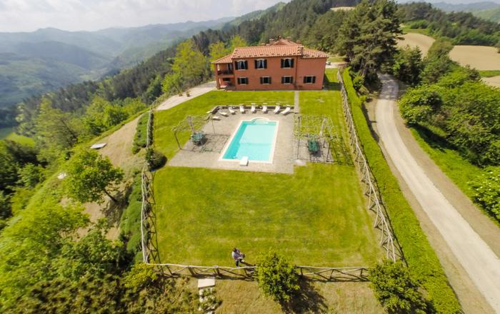 Casa Alata 1 + 2 Whole Villa, Faenza Area, Emilia-romagna