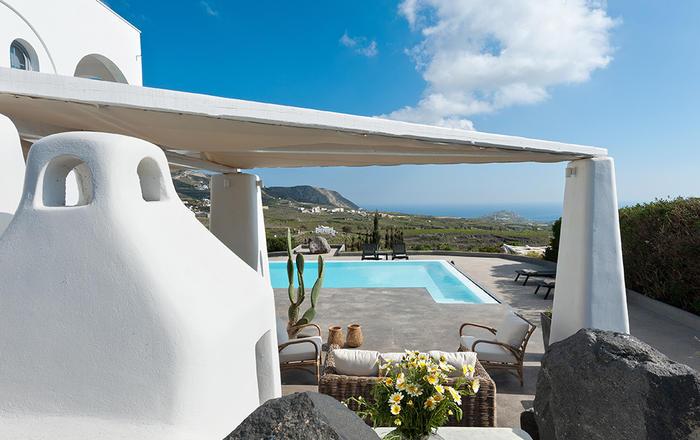 Villa Nikos, Santorini, Greece