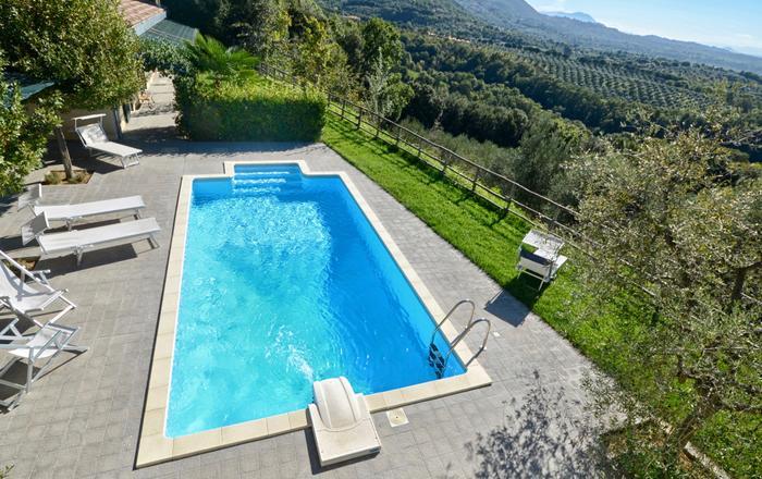 Villa Alfeo, Rieti Area