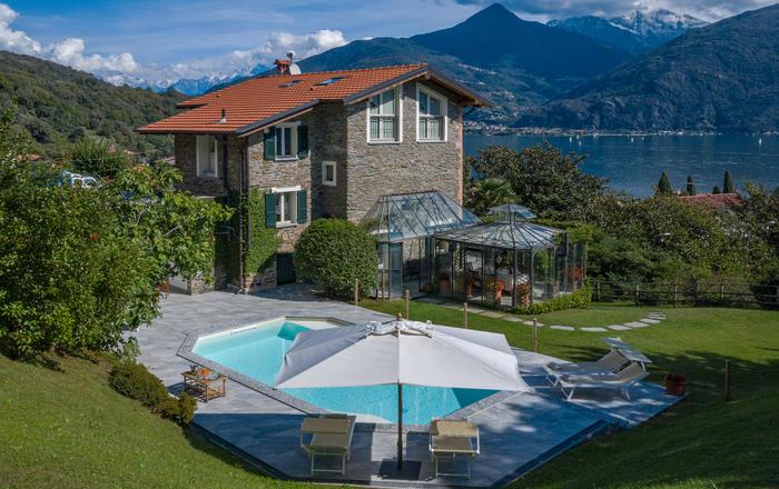 Villa La Loggia - 8 Guests, Menaggio Area, Lake Como