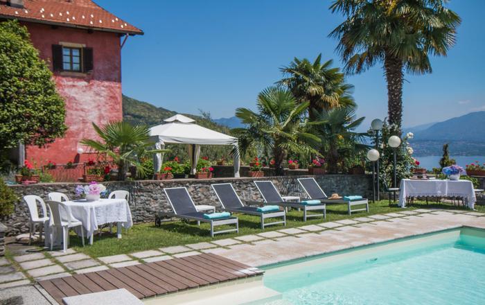 Villa Stresa Tulipano - 4 Guests, Massino Visconti