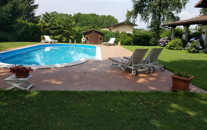 Villa Visconti, Borgo Ticino Area