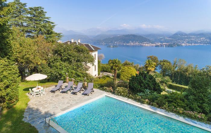 Villa Augusta, Stresa Area, Lake Maggiore