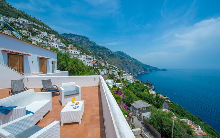 Villa Giuditta, Praiano, Amalfi Coast