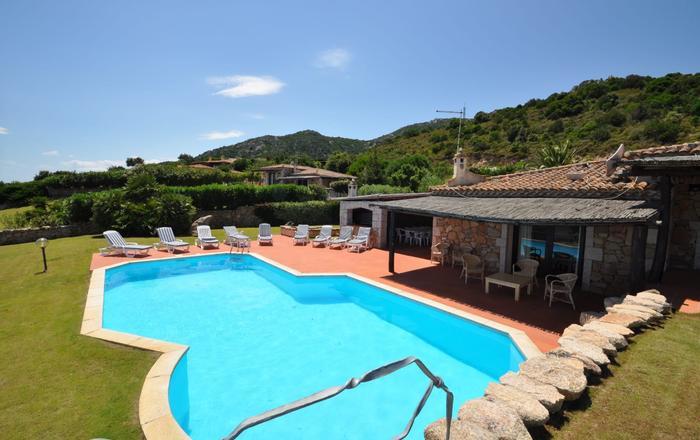 Villa Paglia, Oblia, Sardinia