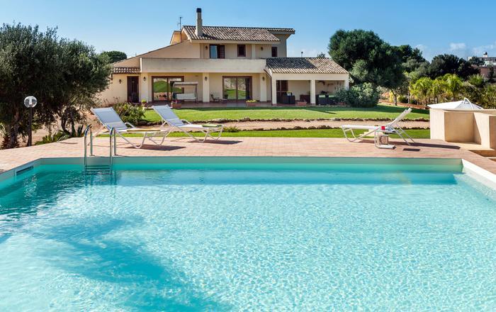 Villa Zara - 6 Guests, Marsala, Sicily