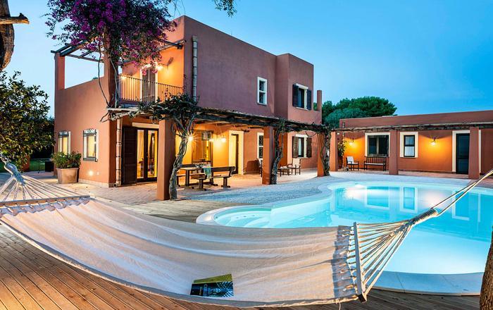Villa Aurelia - 10 Guests, Marsala Area, Sicily