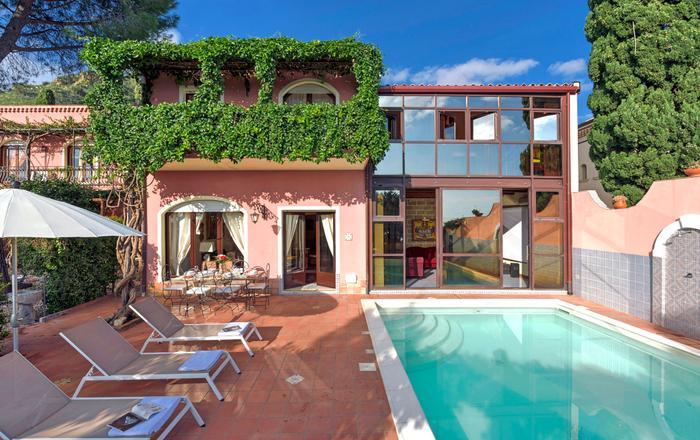 Villa Poesia - 10 Guests, Taormina, Sicily