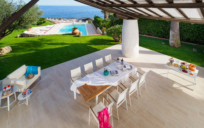 Villa Luna Blu - 8 Guests, Syracuse Area, Sicily
