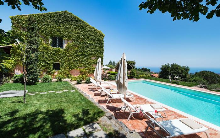 Villa Roberta, Mt Etna Area, Sicily