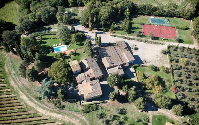Villa Usignolo, Siena Area, Tuscany