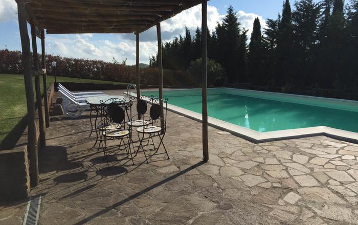 Villa Caselli, Pomarance