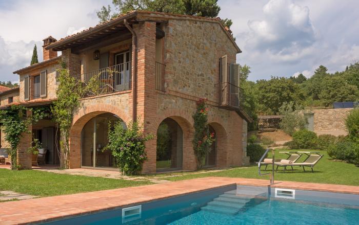 Villa Mandorla, Arezzo