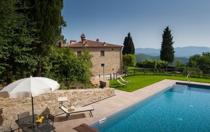 Villa Ducese Mandorla, Arezzo Area, Tuscany