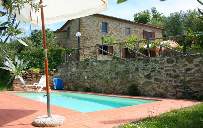 Villa Mezza, Cortona