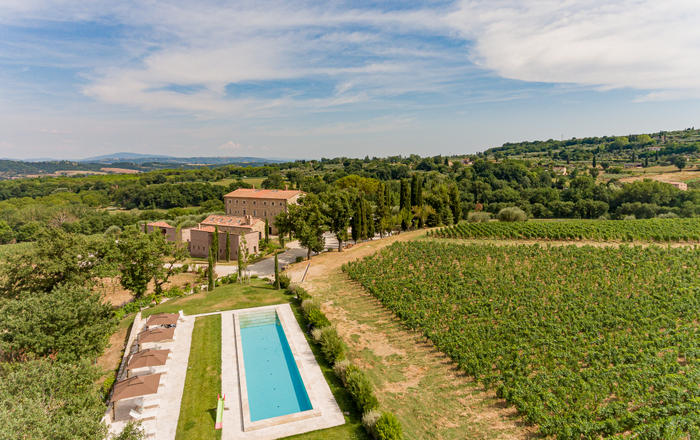 Villa Giustina - 20 Guests, Sarteano Area, Tuscany