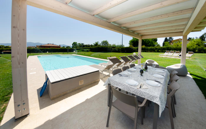 Villa Luciella - 12 Guests, Lucca Area, Tuscany