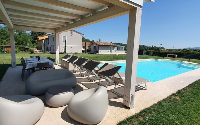 Villa Luciella - 8 Guests, Lucca Area, Tuscany