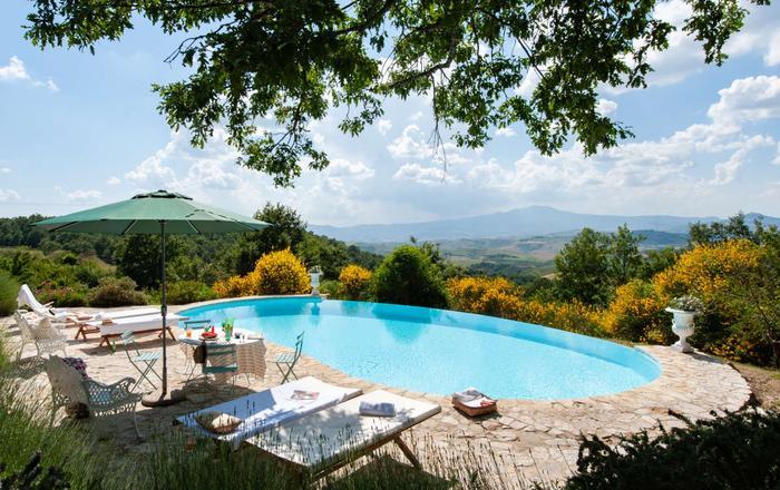 Villa La Rocca - 14 Guests, San Casciano Dei Bagni, Tuscany
