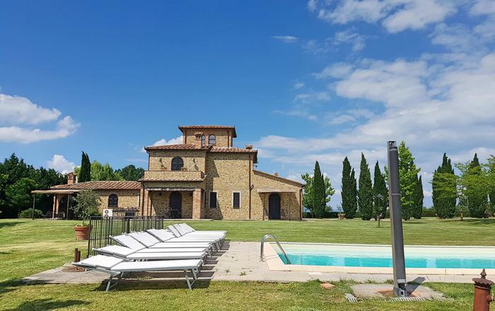Villa Luna, Lake Trasimeno Area, Umbria