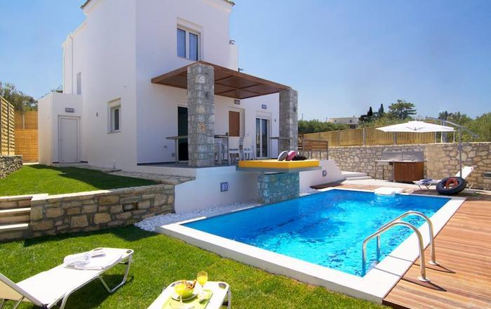 Villa Alexios, Rethymno Area, Crete