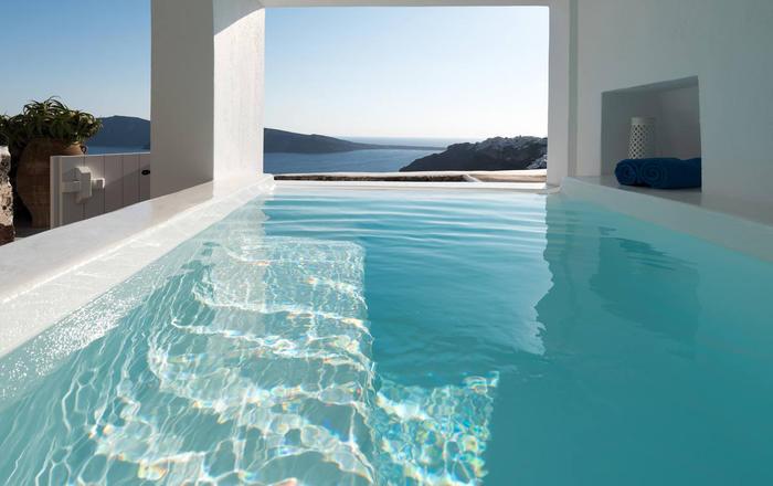 Villa Amfitheatro, Santorini, Greece