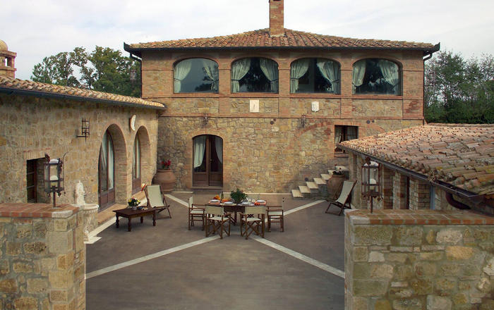Villa Fontanina, Pienza
