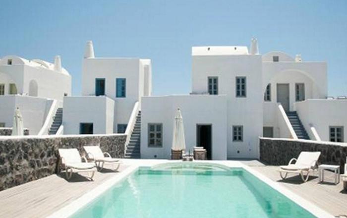 Villa Calista, Santorini, Greece