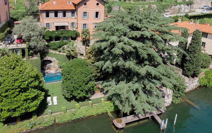Villa Lauretta, Laglio