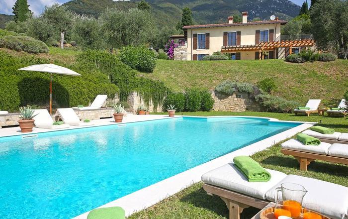 Villa Karah, Toscolano Maderno, Garda