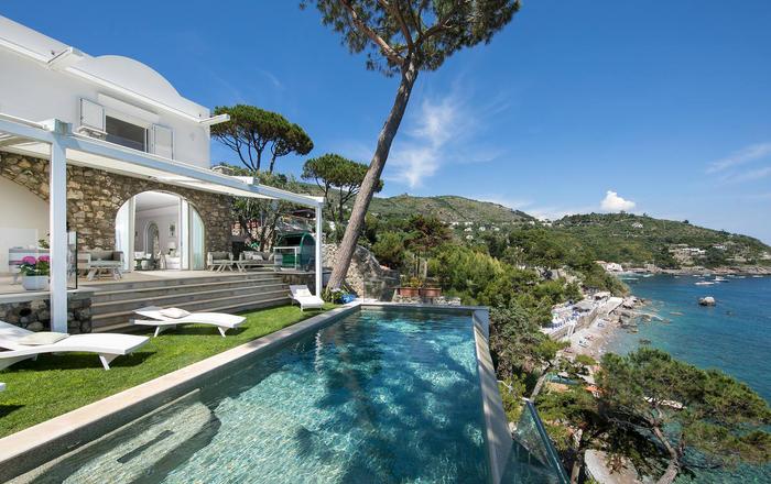 Villa Claretta - 8 Guests, Massa Lubrense Area