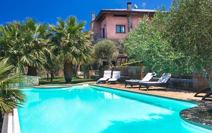 Villa Faviola, Patti Area, Sicily