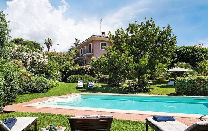 Villa Etnarosea - 6 Guests, Trecastagni