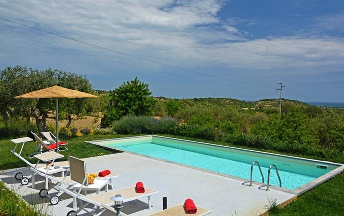 Villas Cialtrona & Vendicari, Noto Area, Sicily