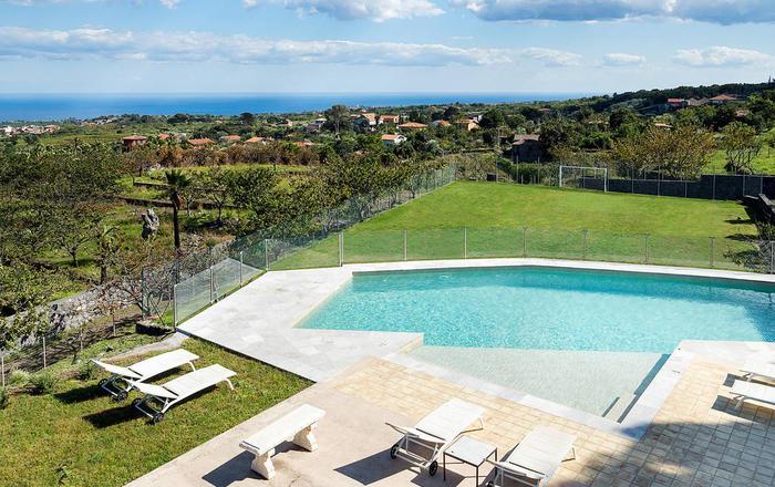 Villa Etnea - 10 Guests, Mount Etna, Sicily