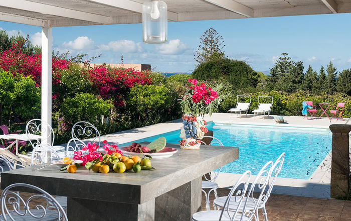 Villa Addolorata - 7 Guests, Marsala Area, Sicily