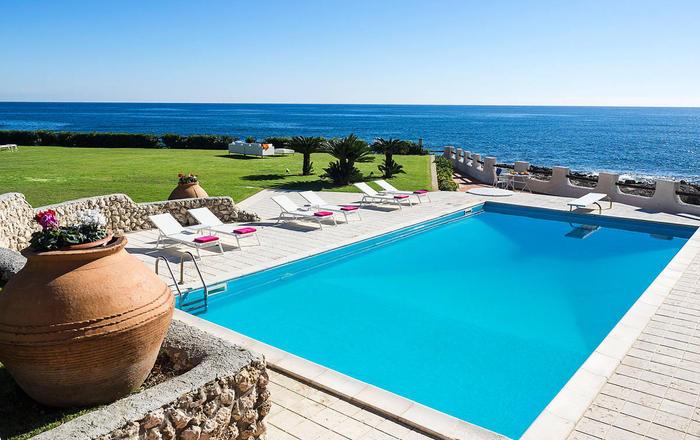 Villa Luna Blu - 12 Guests, Syracuse Area, Sicily