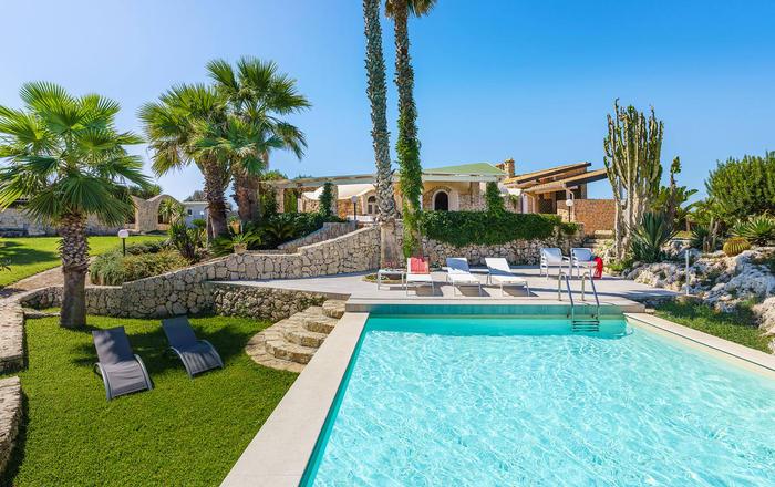 Villa Catrice - 8 Guests, Syracuse Area, Sicily